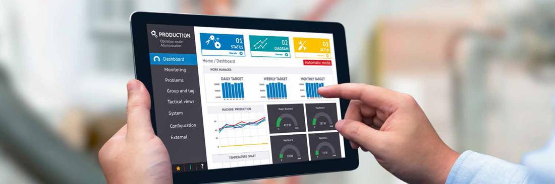 Trendpaper Industrie 4.0: Flexibilität, Produktivität, Cybersecurity
