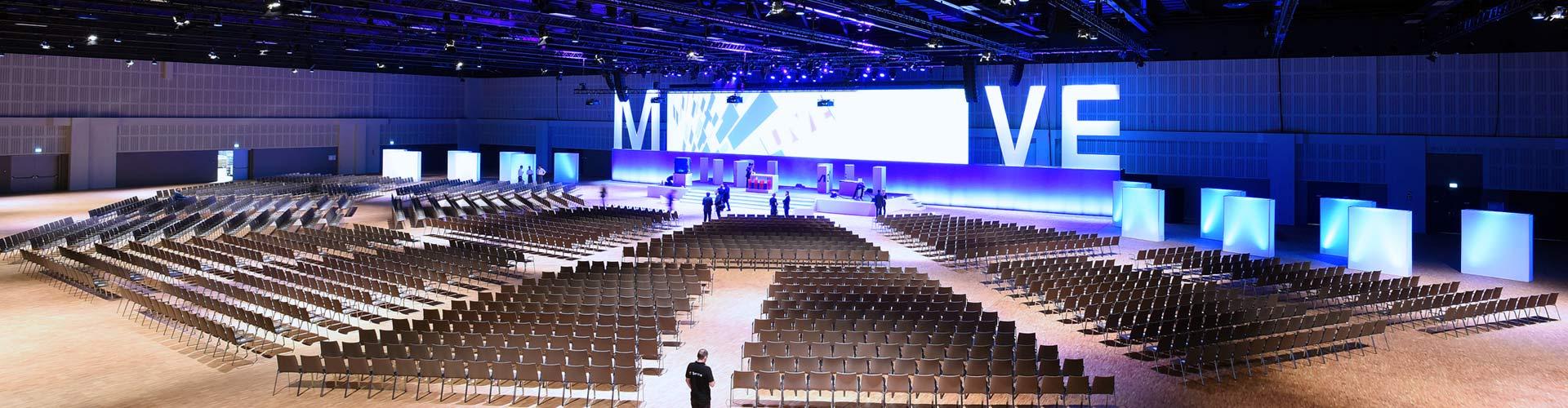 euromicron-Tochter MICROSENS sichert optimale Netzwerkanbindung im Estrel Congress & Messe Center
