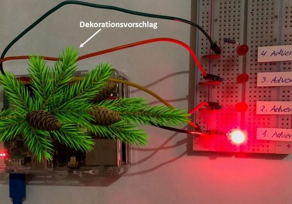 "Smart Christmas – Der ""Advenerdskranz"""