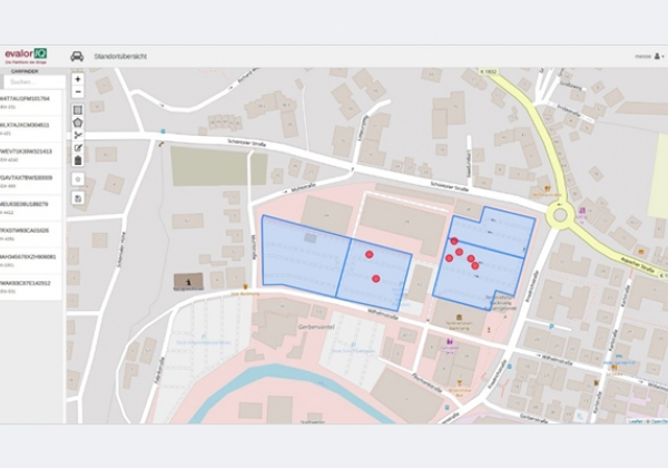 evalorIQ™Carfinder Map