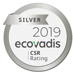 EUROMICRON AG has been awarded a Silver medalas a recognition of their EcoVadis CSR (Corporate Social Responsibility) Rating